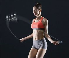 Smart Rope – LED Embedded Jump Rope That Displays Progress in Air