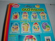 1984 Hasbro GLO BUG Rubber Vinyl Toy Figure NRFP Sealed NOS Worm Cricket Spider in | eBay