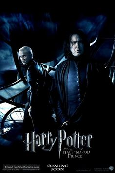 """International Movie Poster """"Harry Potter and the Half-Blood Prince"""" Movie Poster United States Harry Potter Severus Snape, Severus Rogue, Harry Potter Feels, Harry Potter Fandom, Harry Potter World, Harry Potter Movie Posters, Harry Potter Sketch, Harry Potter Actors, Harry Potter Movies"""