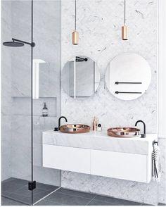 6 fantastiska badrum som vi älskar och inspireras av just nu