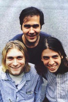 Kurt Cobain Krist Novoselic Dave Grohl