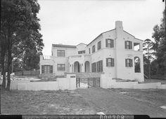 Spanish Mission style house for G.E. Crane, metropolitan Sydney, suburb unknown
