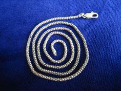 silberne Kette 925er Silber außergewöhnliches Design 45,5 cm lang