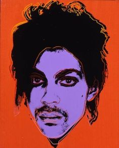 A pop art silkscreen ink & acrylic portrait of: Prince created in 1984 by: Andy Warhol. Andy Warhol Pop Art, Andy Warhol Portraits, Andy Warhol Marilyn, Andy Warhol Museum, Music Poster, Pop Art Poster, Henri Matisse, Warhol Paintings, Photo Star