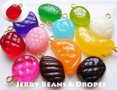 candy color drops for sweets deco