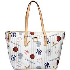 MLB New York Yankees Dooney & Bourke Women's Zip Top Shopper