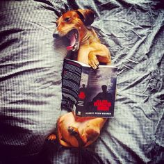 I love reading in bed.  Yawn...