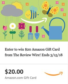 Hello Spring Hop: $20 Amazon eGift Card Giveaway | Ends 3.15.18