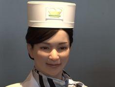変なホテル受付 ロボット 女性.jpg (500×380)