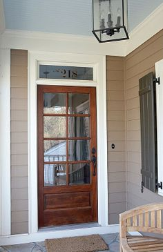 30 Front Door Ideas and Paint Colors for Exterior Wood Door ...