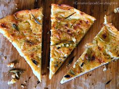 Farinata Genovese: Ligurian Chickpea Flatbread (Easy, delicious, and filling. It helps to experiment with baking times though! Chickpea Flour Recipes, Garbanzo Bean Recipes, Chickpea Pancakes, Polenta Recipes, Socca Recipe, Sweet Recipes, Whole Food Recipes, Gluten Free Recipes, Vegetarian Recipes