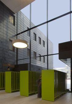 Joensuu Primary School, Joensuu, Finland - Lahdelma & Mahlamäki Architects Primary School, Elementary Schools, Atrium, Helsinki, Finland, Architects, Education, Building, Places