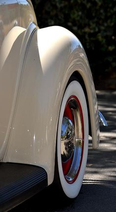 Ice cream paint job! White Hotrod Wheel Photograph by Dean Ferreira Fine Art