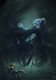 The Legend of Zelda: Twilight Princess | Wolf Link, Midna, and Death Sword / Zelda - Death Sword by EternaLegend on deviantART
