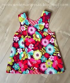 my corner of butterflies: Flower Power - my pinafore pattern (for download)
