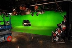 Creative House Studios green screen sound stage. Sound Stage, Studio Green, Film Making, Makeup Rooms, Green Rooms, Home Studio, Black Box, Studio Ideas, Cool Kitchens