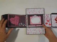 ▶ Bo Bunny Head Over Heels Mini Album in a Box - YouTube