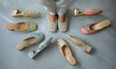India Art n Design Global Hop : Nature factored into the built form Brogues, Loafers, Bridal Shoes, Bridal Footwear, Fashion Shoes, Fashion Art, Luxury Shoes, Product Launch, Popular