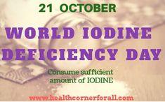 """Iodine Deficiency diseases  दुनिया भर में एक प्रमुख public health problem बन चुकी है ।आज World Iodine Deficiency Day पर हम बात करेंगें """"Top 8 Iodine Rich Foods"""" के बारे में। Iodine Rich Foods, Iodine Deficiency, Health Fitness, Fitness, Health And Fitness, Excercise"""