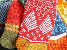 Annie's Woolens - Personalized Christmas Stockings