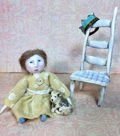 Lady Ann - OOAK Art Doll on Etsy, $68.00