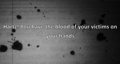 Twitter / @KatieKaophonicc: @Hartzpets you have the blood of your victims on your hands!