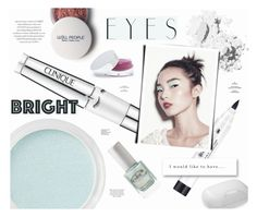 """Turn Around, Bright Eyes"" by katarina-blagojevic ❤ liked on Polyvore featuring beauty, Bare Escentuals, Clinique, Estée Lauder, Bobbi Brown Cosmetics, Gucci, Color Club, Splendid and brighteyes"