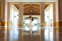 Wedding pic in front entrance