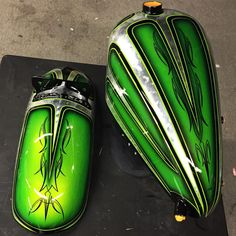 Czar Custom Paint Tank Fender