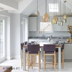 The beautiful designs of our #stanleypendantlights can add the perfect sparkle to your home this Christmas #kitchenlighting