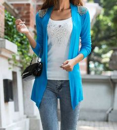 Knitted Bead Cardigan