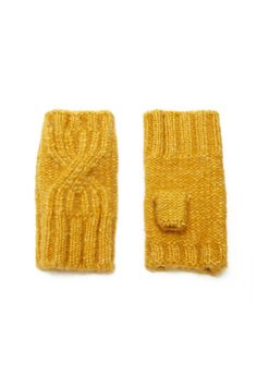 Product Name:Cable-Knit Fingerless Gloves, Category:ACC, Price:6.9