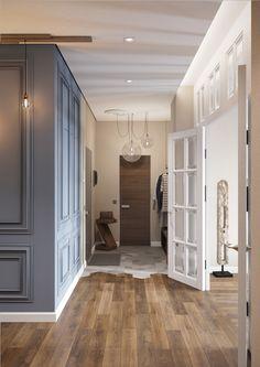 Проект Lumiere дизайнера Анастасии Стручковой завораживает своей изысканностью, лаконичностью и умелым сочетанием элементов разных стилей.