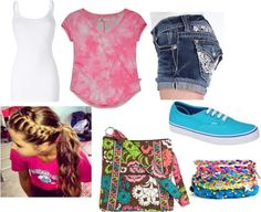 Love everything but purse and bracelets. I love this outfit expecially the purse
