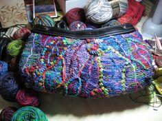 Purse made with Koigu yarn