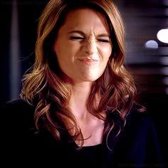 Kate Beckett - Stana Katic.   Haha, too funny! ^-^