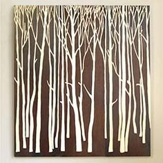Birch Forest Panels