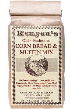 Stone Ground Cornbread & Muffin Mix