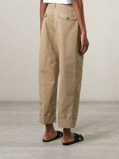 Acne Studios 'eora' Trousers - Excelsior Milano - Farfetch.com Mode Outfits, Casual Outfits, Fashion Outfits, Womens Fashion, Fashion Skirts, Fashion Tips, Fashion Trends, Fashion 2020, Look Fashion