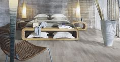 Welcome to Pergo, the natural choice in flooring when you want a durable, easy to install laminate, vinyl or wood parquet floor. Bedroom Laminate Flooring, Wood Laminate, Modern Floor Tiles, Interior Architecture, Interior Design, Timber Flooring, Flooring Ideas, Grey Oak, Contemporary Bedroom