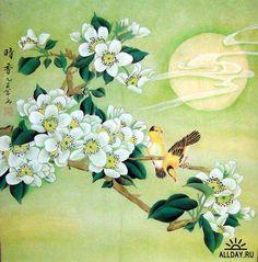 Gallery.ru / Фото #9 - Японская живопись цветов и растений - ninmix