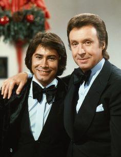 Peter Alexander bei seiner Wunschkonzert-Show 1973 mit Roy Black
