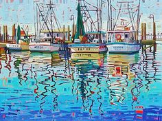 """Summer Reflections,"" by Rene' Wiley by Rene' Wiley Gallery Oil ~ 36 x 48"