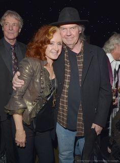 Bonnie Raitt and Neil Young