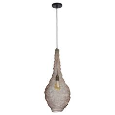 Moderne hanglamp met een opengewerkt dessin. Kleur: antraciet. Grotte fitting E27. 62 cm hoog. #kwantumstijl #hanglamp Ceiling Lights, Pendant, Loft, Home Decor, Decoration Home, Room Decor, Hang Tags, Pendants, Lofts