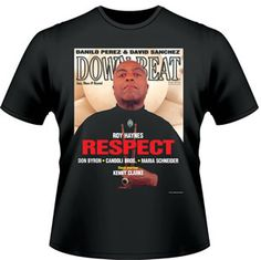 Our Limited Edition Classic Cover T-Shirt. It is our November 1996 cover of the great Roy Haynes. https://subforms.com/downbeat/store/product.asp?id=142
