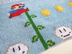 Mario Needlepoint (posted on http://www.edhumphries.com)