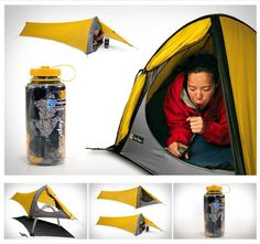 Compact tent http://campingtentlovers.com/alps-mountaineering-lynx-1-person-tent/