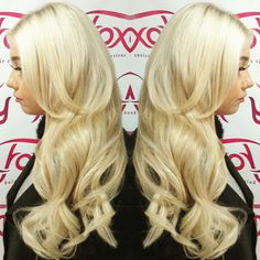 A full head of mini link #hairextensions fitted on our new client Abbie.  Hayley at our Newcastle store used colours #22/16 #24 and # 60 for the perfect colour match   #foxyhair #foxyhairextensions #hairthatrox #minilinks #sticktips #brazilianhair #brazilianremy #grade5a #blonde #curls #cloudnine #longhair #longhairdontcare #hairtransformation #hairextensiontraining #hairextensionsnewcastle #hairextensionsnortheast #doubledrawnhairextensions #doubledrawnhair