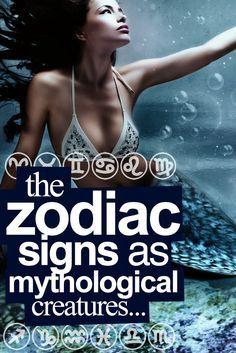 The Zodiac Signs If They Were Mythological Creatures… Scorpio the Siren! Virgo Moon Sign, Astrology Aquarius, Capricorn Women, Scorpio Woman, Aquarius Facts, Scorpio Zodiac, Zodiac City, Astrology Zodiac, Gemini